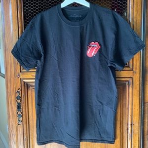 Rolling Stones Tongue and Lips Authentic T-Shirt